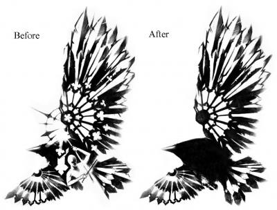a raven tattoo for a while now probably has to do with The Crow.. but